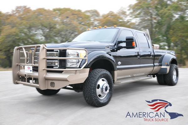 2013 FORD F450 4X4 KINGRANCH 6.7L POWERSTROKE*ONLY 73K Mi* - $48500