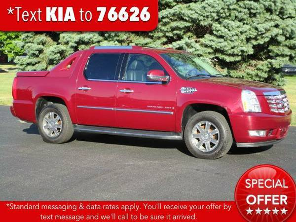 2007 *Cadillac Escalade EXT* AWD 4dr - Red E