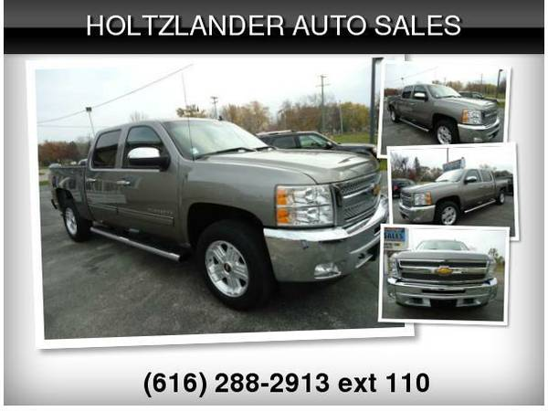 🚙 2013 CHEVY SILVERADO 1500 LT 4X4 ** FINANCING AVAILABLE**