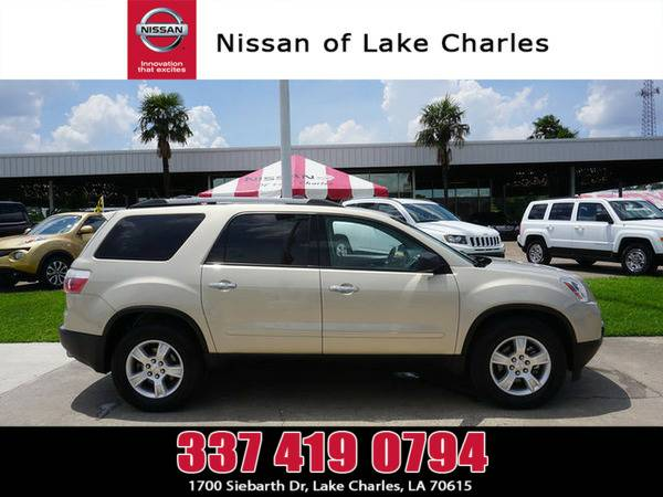*2012* *GMC Acadia* ** *Gold Mist Metallic*