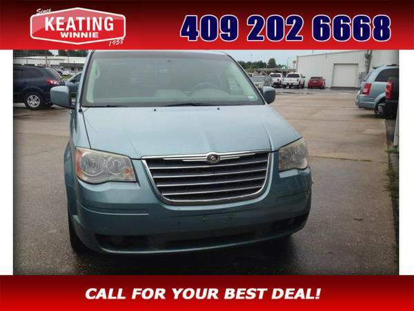 *2010* *Chrysler Town & Country* *Touring* Blue