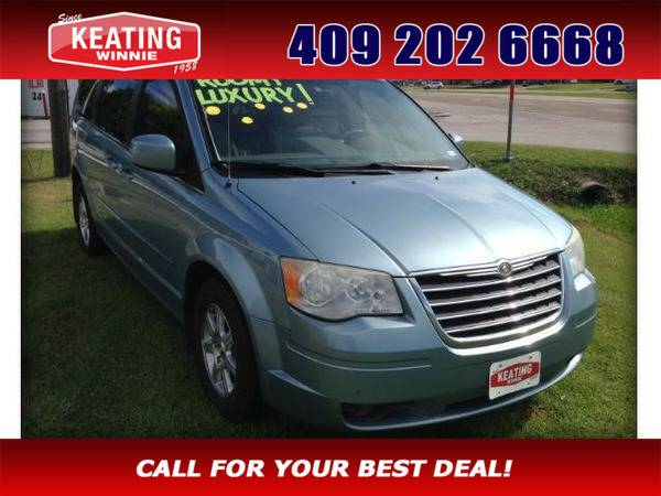 *2008* *Chrysler Town & Country* *Touring* Blue