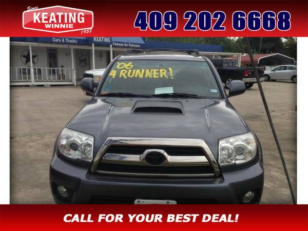 *2006* *Toyota 4runner* *Sport Edition 2WD* Gray