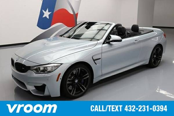 2015 BMW M4 2dr Convertible Convertible 7 DAY RETURN / 3000 CARS IN ST