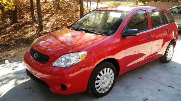 5 Speed Toyota Matrix 2005