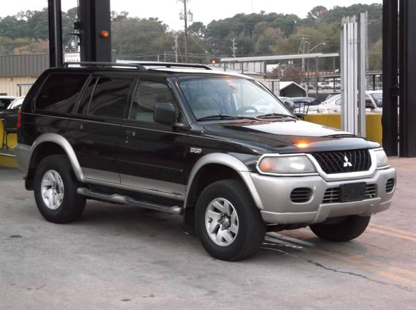 2002 Mitsubishi Montero Sport LS. *WHOLESALE TO THE PUBLIC*