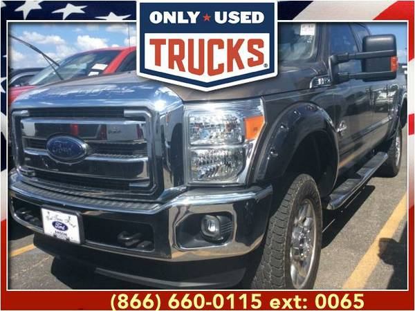 2015 *Ford F250* *F-250*F 250* Lariat 4x4 Super Duty SRW (8cyl, 6.7L,
