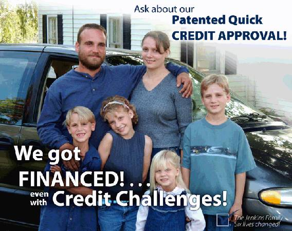 100% GUARANTEED CREDIT APPROVAL ( BAD CREDIT, NO CREDIT, BANKRUPCY) !!
