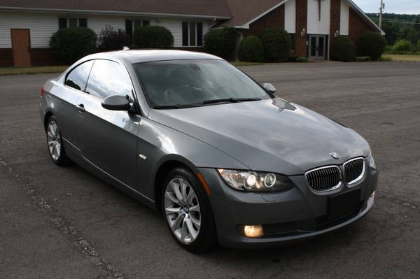2009 BMW 335XI Coupe, 6-Speed, All-Wheel-Drive!