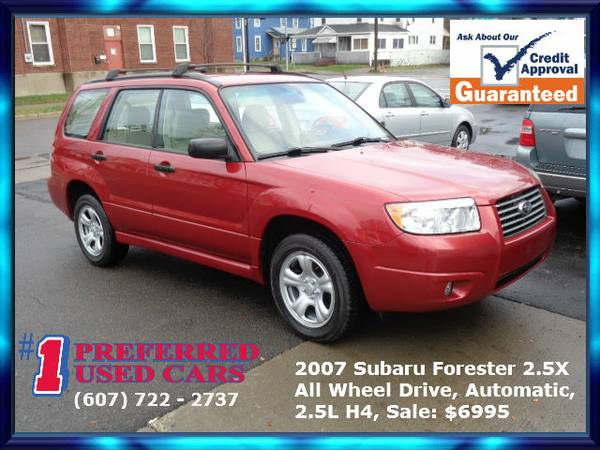 Subaru Forester 2.5X!! All Wheel Drive!! Guaranteed Credit Approval!!