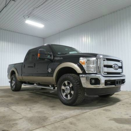 2011 Ford F-250 _ 6.7 Diesel _ Lariat _ Leather _ Crew _ 4x4 _...