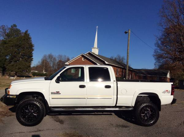 05-Chevrolet 2500HD Duramax 4x4-Crew Cab!LT!No Rust!XD Wheels!