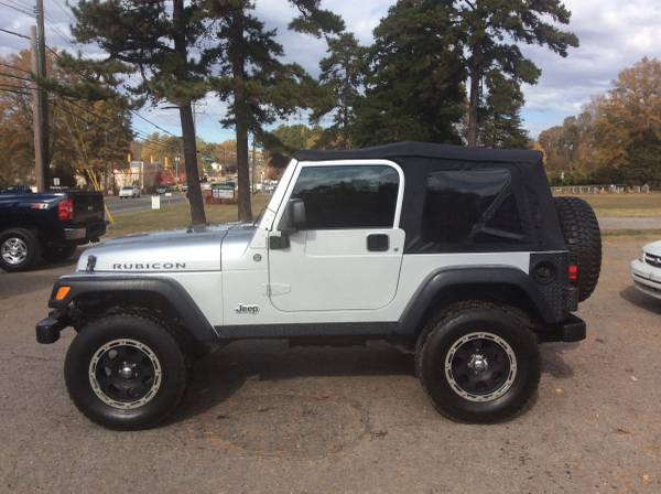 06-Jeep Wrangler Rubicon-6 Speed Manual!No Rust!Local Trade!