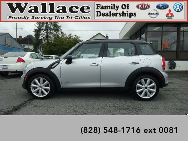 2013 *MINI Countryman* Cooper S ALL4 (Crystal Silver)