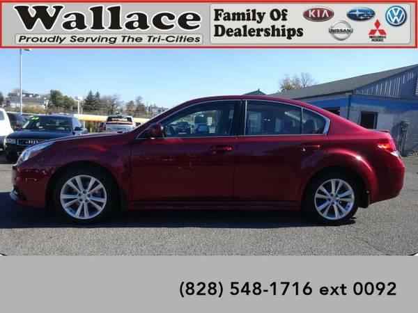 2014 *Subaru Legacy* 2.5i Premium (Red)