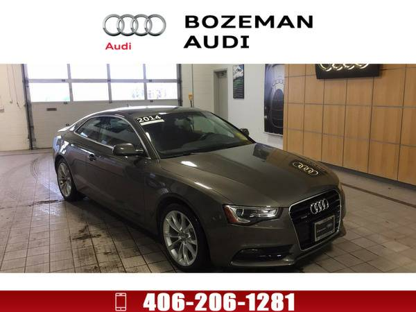*2014* *Audi A5* *2.0T Premium (Tiptronic)* Dakota gray metallic