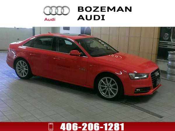 *2016* *Audi A4* *2.0T Premium (Tiptronic)* Misano red pearl