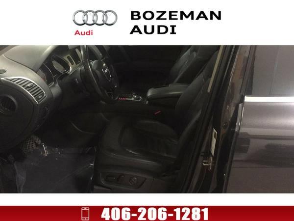 *2009* *Audi Q7* *3.6 5 Passenger (Tiptronic)* Gray