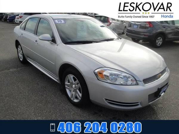 *2016* *Chevrolet Impala Limited* *4dr Car LT* *Silver*