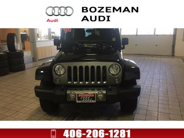 *2014* *Jeep Wrangler Unlimited* *Sport 4x4* Black