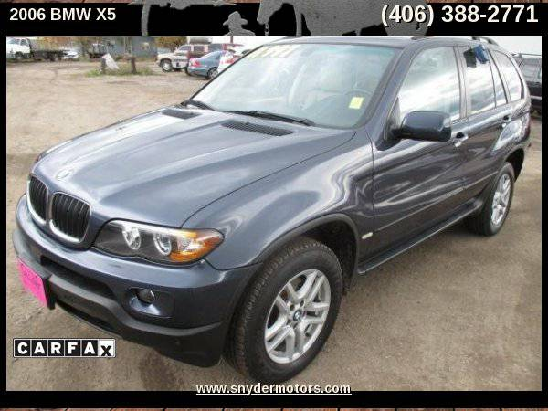 2006 BMW X5 3.0i AWD 4dr SUV, Only 80k, AWD