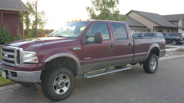 2005 Ford F350 Crew cab Long Bed Lariat Edition 6.0 Diesel Powerstroke