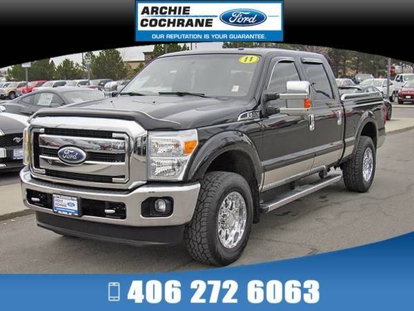 *2011* *Ford F250* *Lariat* *Black*