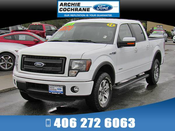 *2014* *Ford F150* *FX4 SuperCrew 4x4* *White*