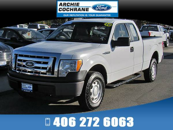 *2010* *Ford F150* *XL* *White*