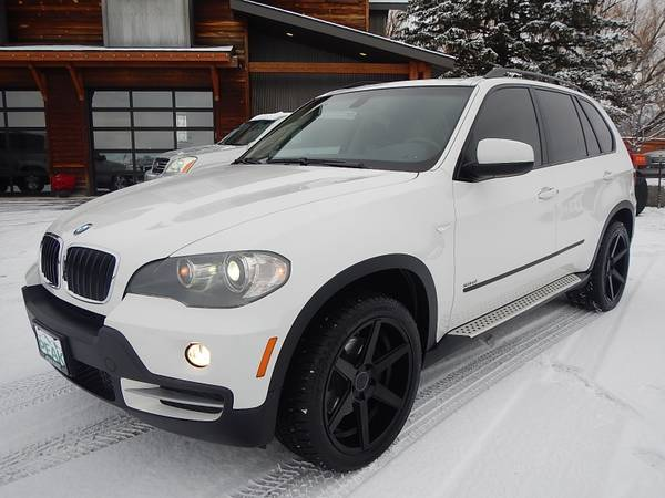 2008 BMW X5 3.0SI Sport All-Wheel Drive White Loaded