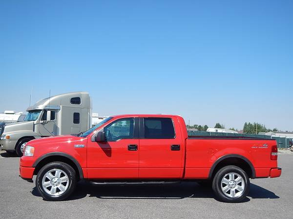 2006 Ford F150 SuperCrew FX4 Bright Red Long-Box