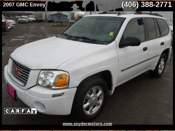 2007 GMC Envoy,SUPER CLEAN!4X4,NEW TIRES,SUN ROOF,ONLY 121K