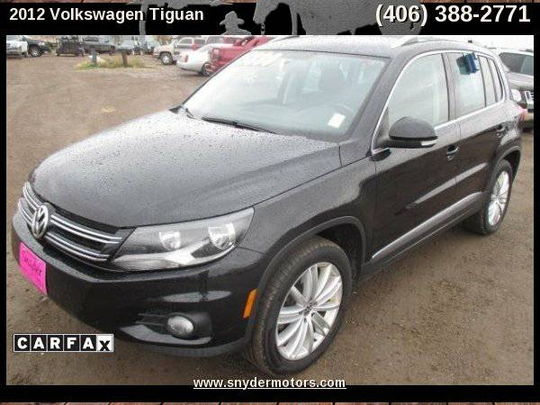 2012 Volkswagen Tiguan,1 OWNER,PANORAMA ROOF,HEATED SEATS!