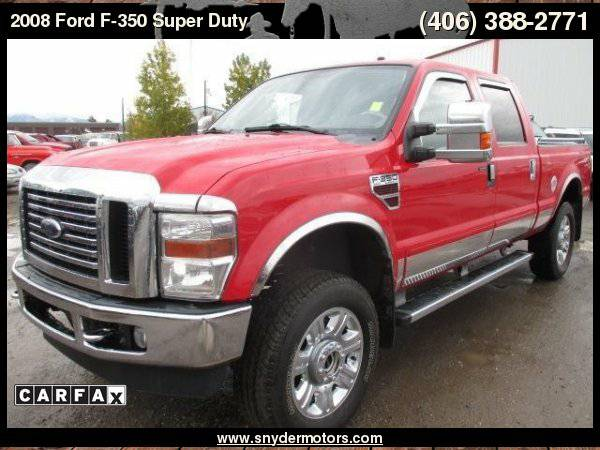 2008 Ford F-350 Super Duty, 4x4, 6.4L Powerstroke, Leather, Heated...