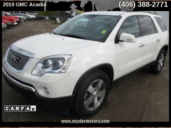 2010 GMC Acadia SLT-1 AWD 4dr SUV,AWD, Leather, Heated Seats, 3rd Row