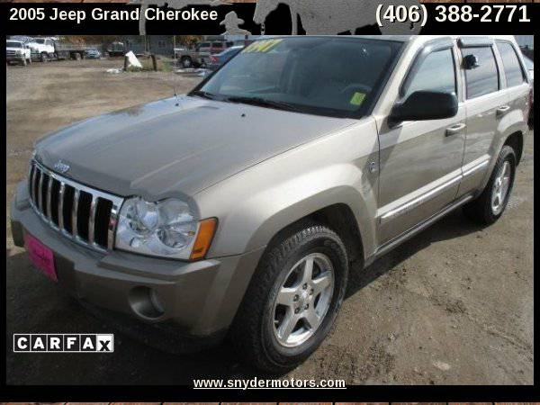 2005 Jeep Grand Cherokee Limited 4dr 4WD SUV, Limited, 4x4, Leather,...