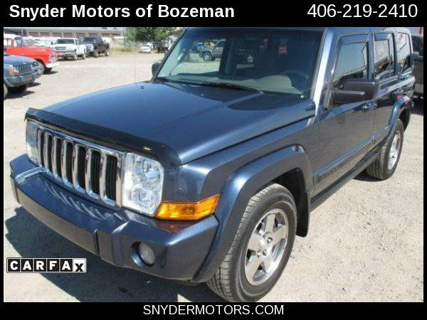 2009 Jeep Commander Sport 4x4 4dr SUV 3RD Row 102K Clean Easy...