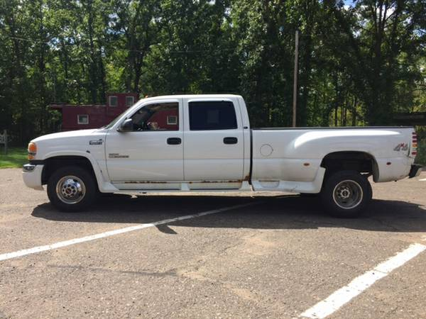 2003 GMC 3500 Dually Crew Cab DURAMAX DIESEL, LEATHER, LOADED!!
