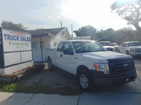 2009 Ford F-150 Extended Cab 4X4 100% Financing & Leasing Available