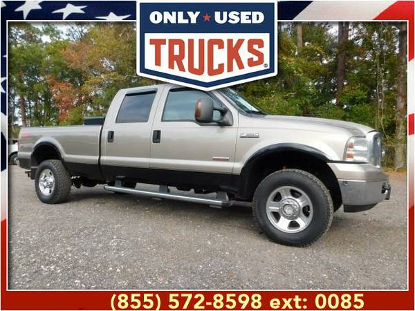2006 *Ford F350* *F-350*F 350* Lariat 4x4 Super Duty SRW (8cyl, 6.0L,