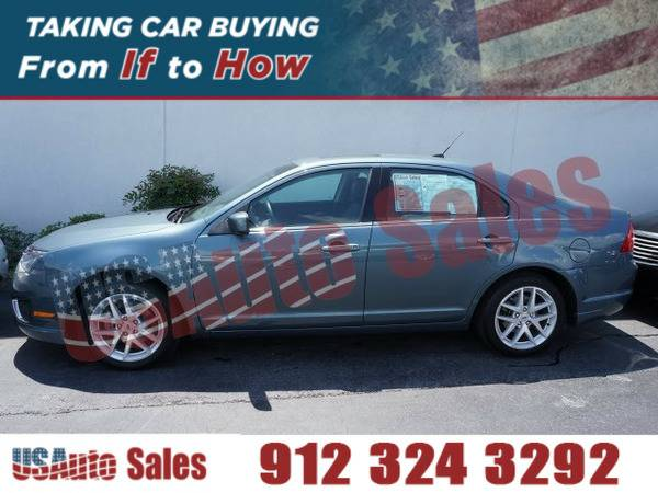 *2012* *Ford Fusion Sel* ** BLUE