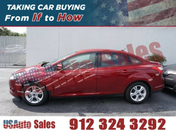*2014* *Ford Focus Se* ** RED