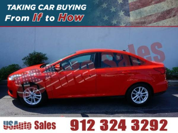 *2015* *Ford Focus Se* ** RED