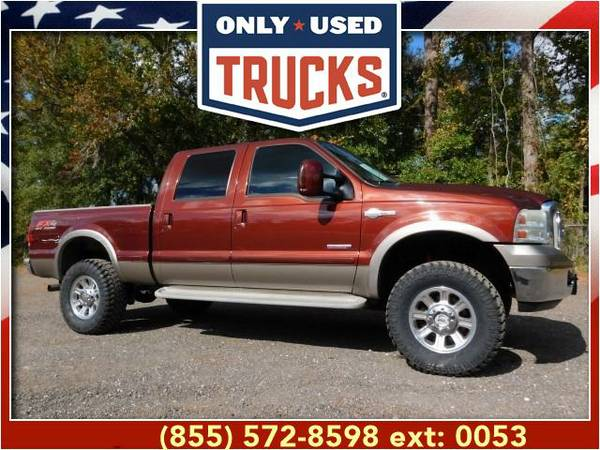 2006 *Ford F250* *F-250*F 250* King Ranch 4x4 Super Duty (8cyl, 6.0L,