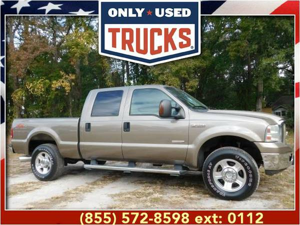2005 *Ford F250* *F-250*F 250* Lariat 4x4 Super Duty (8cyl, 6.0L,...