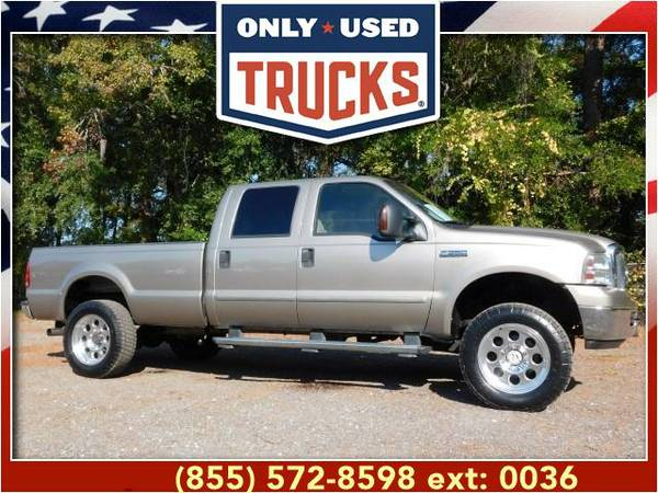 2007 *Ford F350* *F-350*F 350* Lariat 4x4 Super Duty SRW (8cyl, 6.0L,