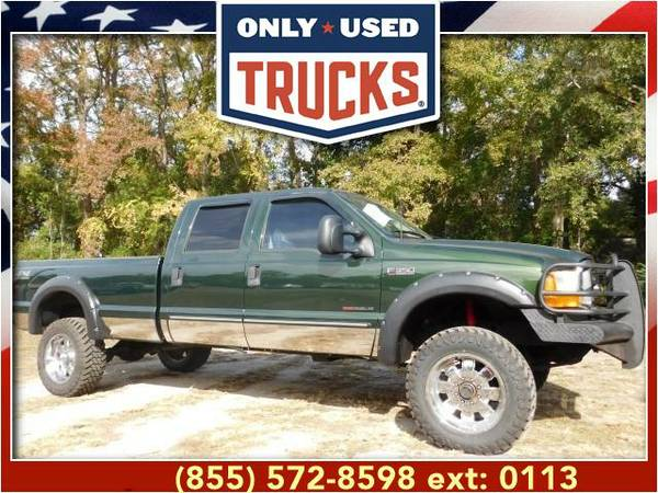 2000 *Ford F250* *F-250*F 250* XLT 4x4 Super Duty (8cyl, 7.3L,...