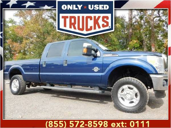 2011 *Ford F350* *F-350*F 350* XLT 4x4 Super Duty SRW (8cyl, 6.7L,...