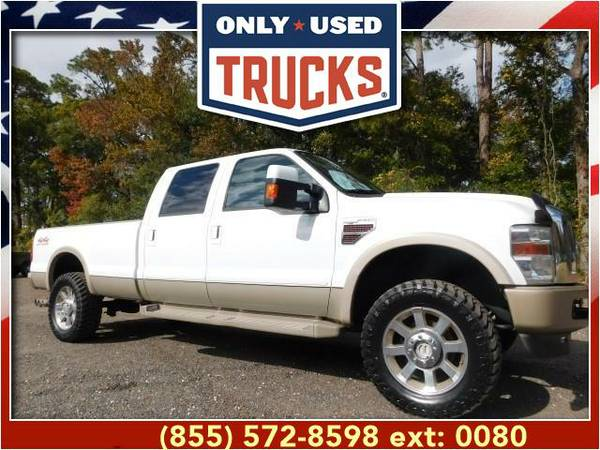2009 *Ford F350* *F-350*F 350* King Ranch 4x4 Super Duty SRW (8cyl,...