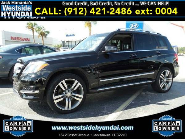 2014 *MERCEDES-BENZ GLK350* LEATHER (Black)